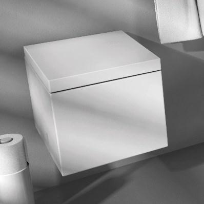 Artceram Block BKV001 унитаз подвесной 49х37 см. Производитель: Италия, Artceram